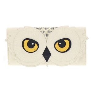 NWT Loungefly x Harry Potter Hedwig Trifold Wallet